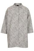 TOPSHOP TOPSHOP Lace Boyfriend Coat