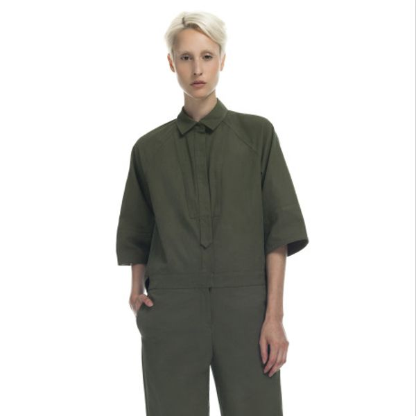 Yigal Azrouel Canvas Jumpsuit