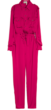Lanvin Button Front Jumpsuit