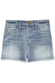 Current/Elliott  The High Waist Distressed Denim