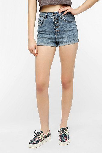BDG  Button Fly Cuffed Denim Short