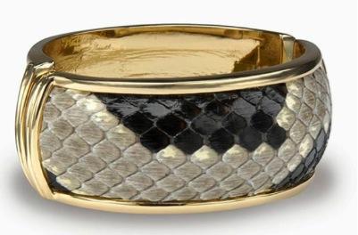 Robyn Brooks Robyn Brooks Lulu Large Python Bracelet