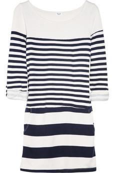Splendid Striped Modal And Cotton-Blend Dress