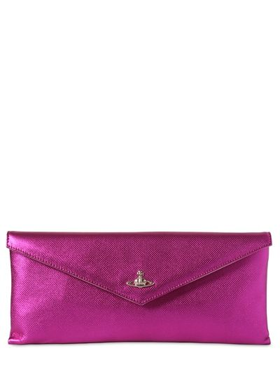 Vivienne Westwood Laminated Leather Clutch