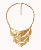 Forever 21 Art Deco Bib Necklace