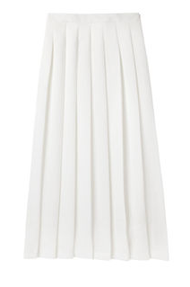 Nomia Pleated Midi Skirt