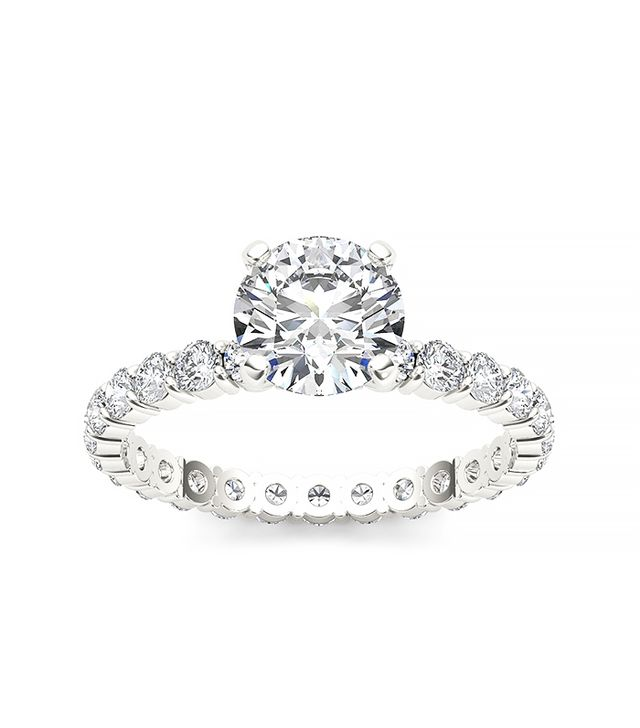 De Couer 14k White Gold 2 1/2ct TDW Diamond Engagement Ring