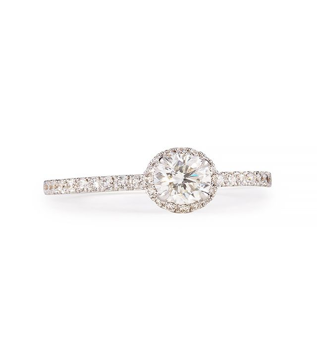 Messika Joy Diamond Ring with Halo
