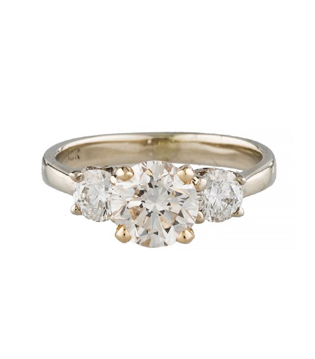 Three-Stone Diamond Ring