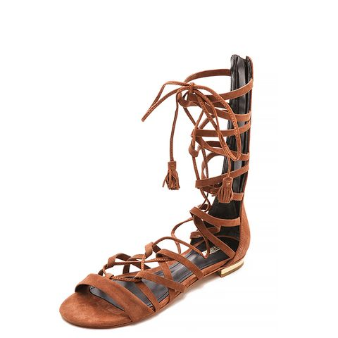 Billa Suede Gladiator Sandals