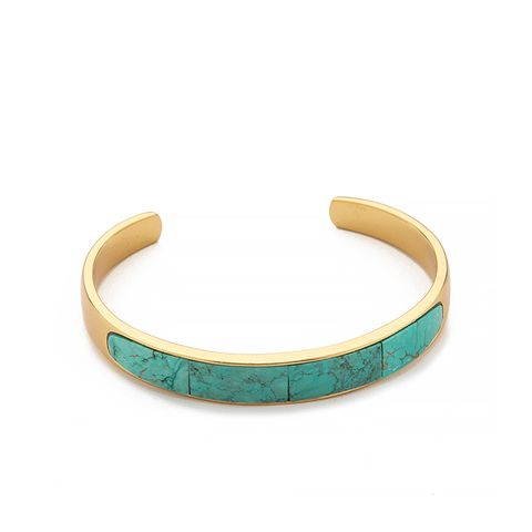 Solid Inlay Cuff Bracelet