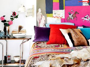 Tour a Colorful Loft with a Personal Touch