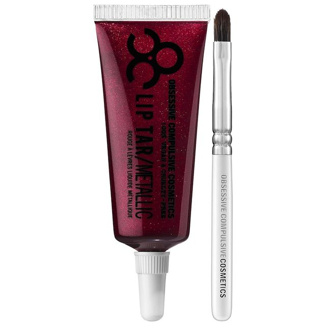 Obsessive Compulsive Cosmetics Lip Tar in Black Metal Dahlia