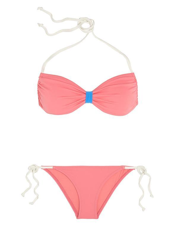 Poppy Delevingne + Solid & Striped Halterneck Bikini