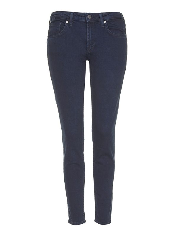 Topshop Moto Blue Black Baxter Jeans