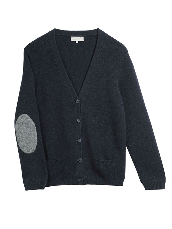 Chinti and Parker Elbow Patch Cardi