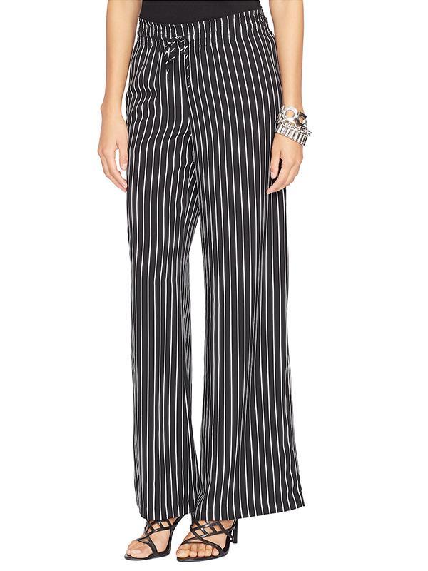 Lauren Ralph Lauren Striped Wide-Leg Pants