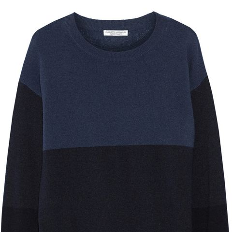 The Blocked Cashmere Sweater