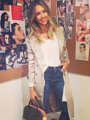 What Jessica Alba Wears to Work (And How to Recreate It!)