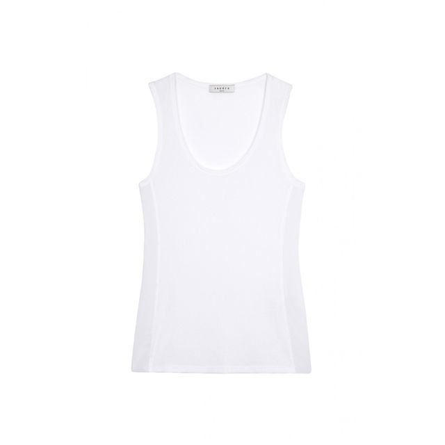 Sandro Paris Tracy Knit Tank Top