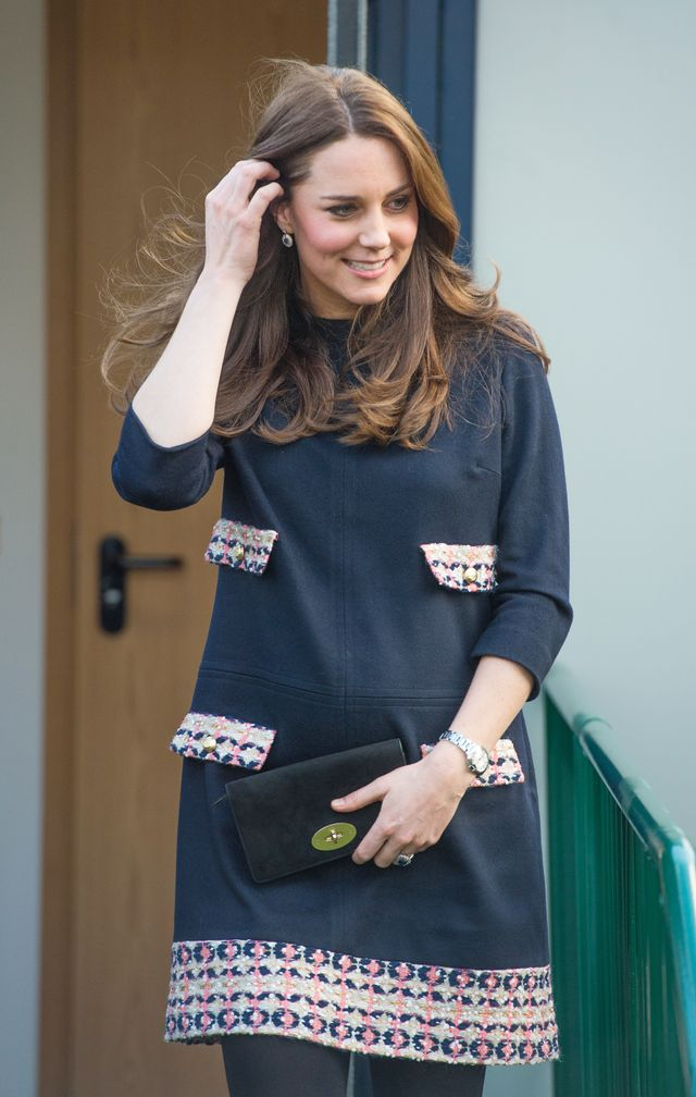 How Kate Middleton's Second Baby Bump Broke the Internet