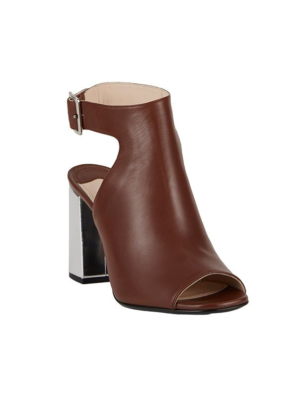 Prada Halter-Strap Peep-Toe Sandals
