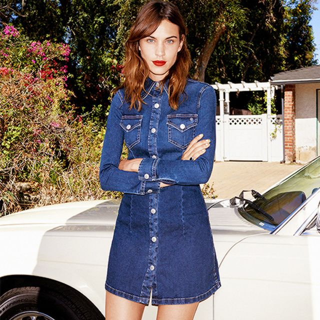 You Can Shop Alexa Chung's AG Collection BEFORE It Hits the U.S.