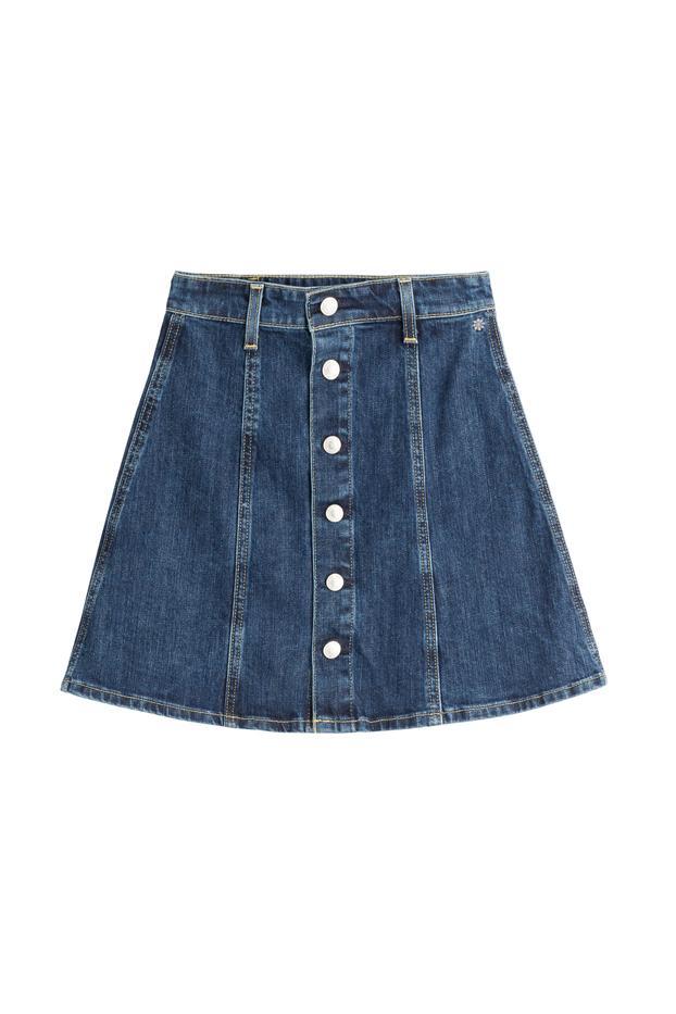 Alexa Chung for AG Kety Denim Skirt