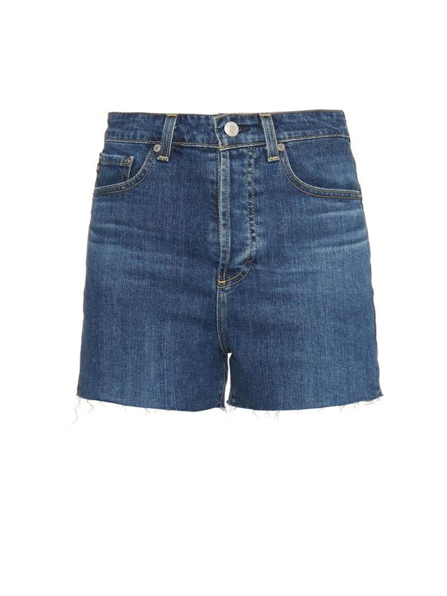 Alexa Chung for AG The Fifi High-Waist Fitted Shorts