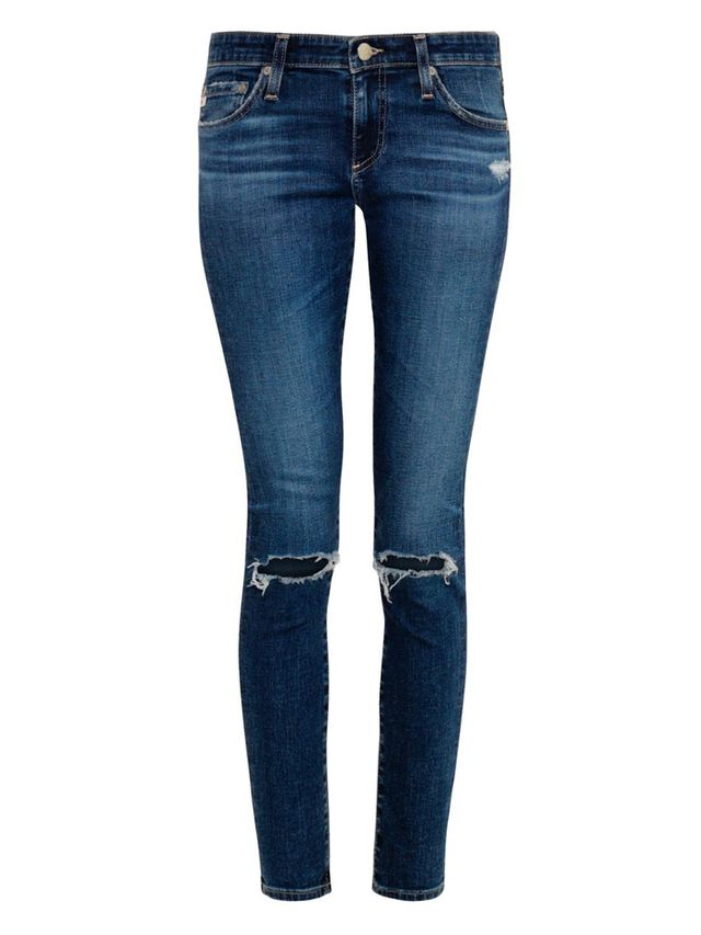 Alexa Chung for AG The Legging Mid-Rise Skinny Jeans