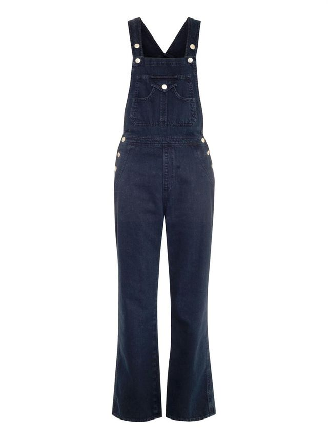 Alexa Chung for AG The Tennessee Denim Dungarees
