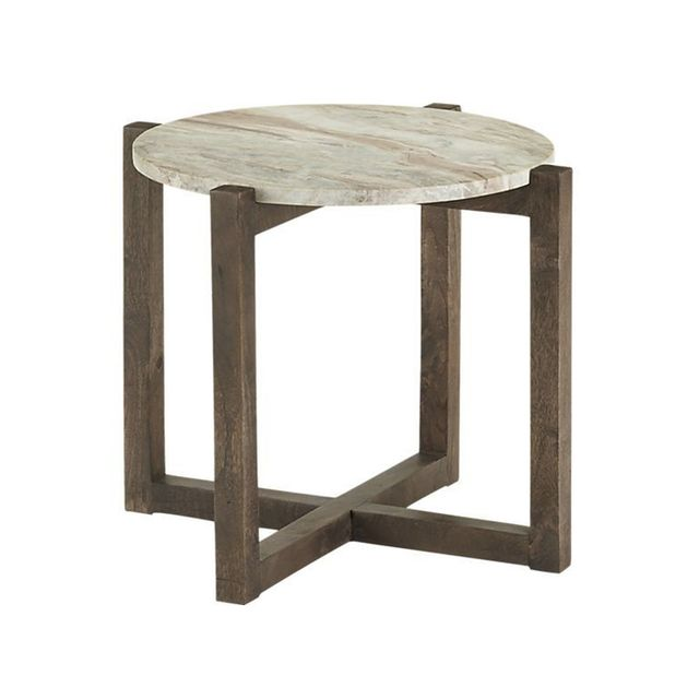 CB2 Sediment Side Table