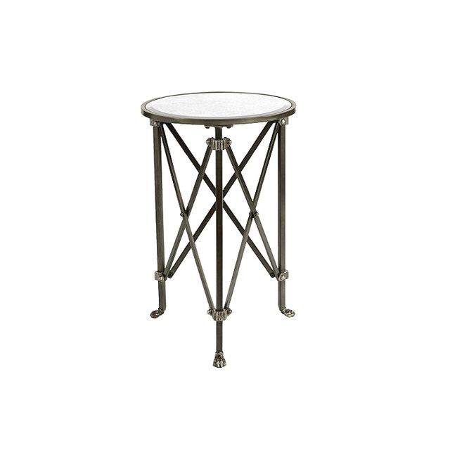 Ballard Designs Olivia Mirrored Side Table