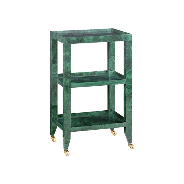 Bungalow 5 Isadora Malachite Side Table
