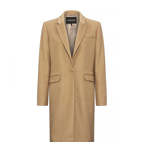 Camel Hair City Coat