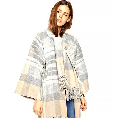 Blanket Wrap Coat