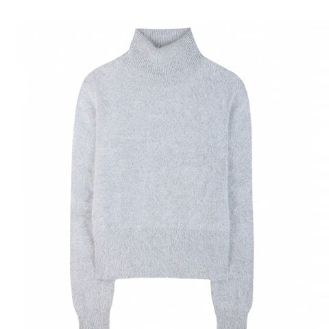 Angora Turtleneck Sweater