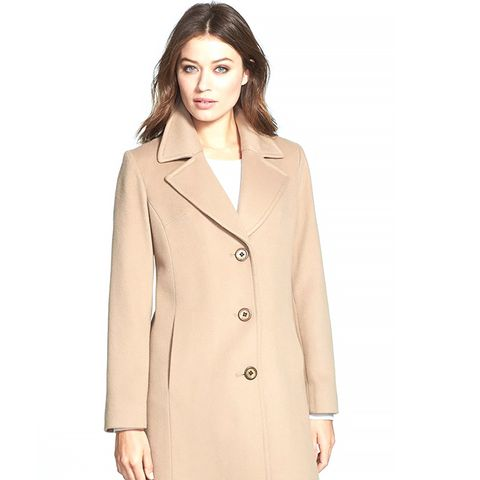 Notch Collar Loro Piana Wool Walking Coat