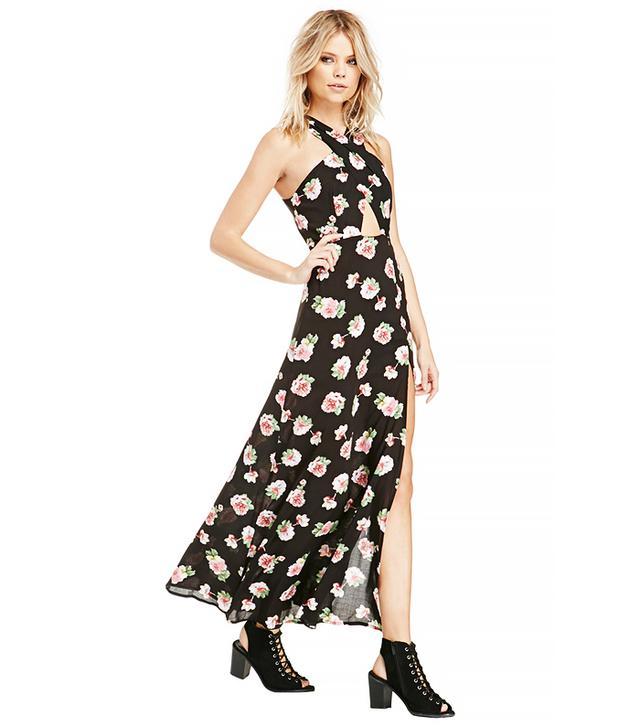 Dailylook Floral Print Maxi Dress