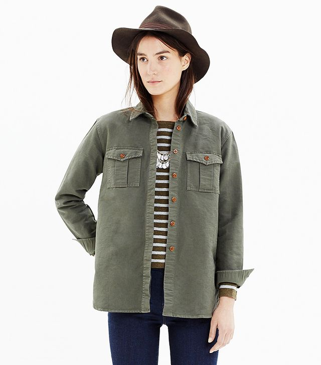 Madewell Field-Bound Cargo Shirt-Jacket