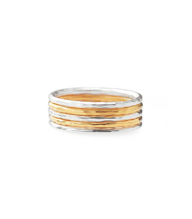 Stella & Dot Stackable Band Rings - Set of 5