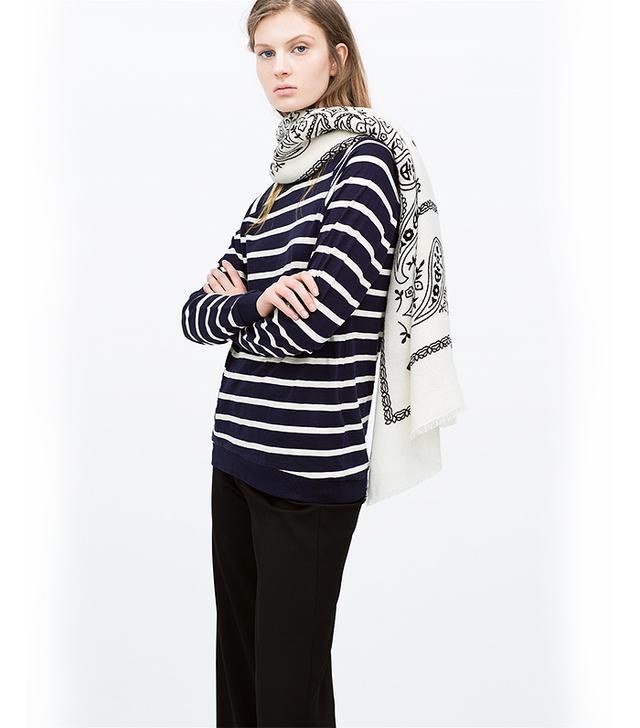 Zara Soft Paisley Scarf
