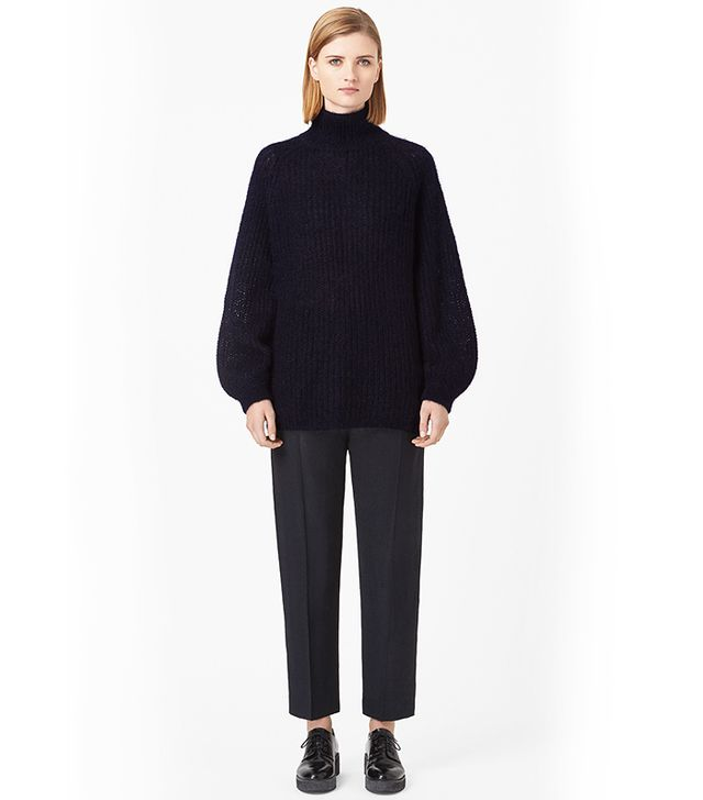 COS High-Neck Mohair Jumper