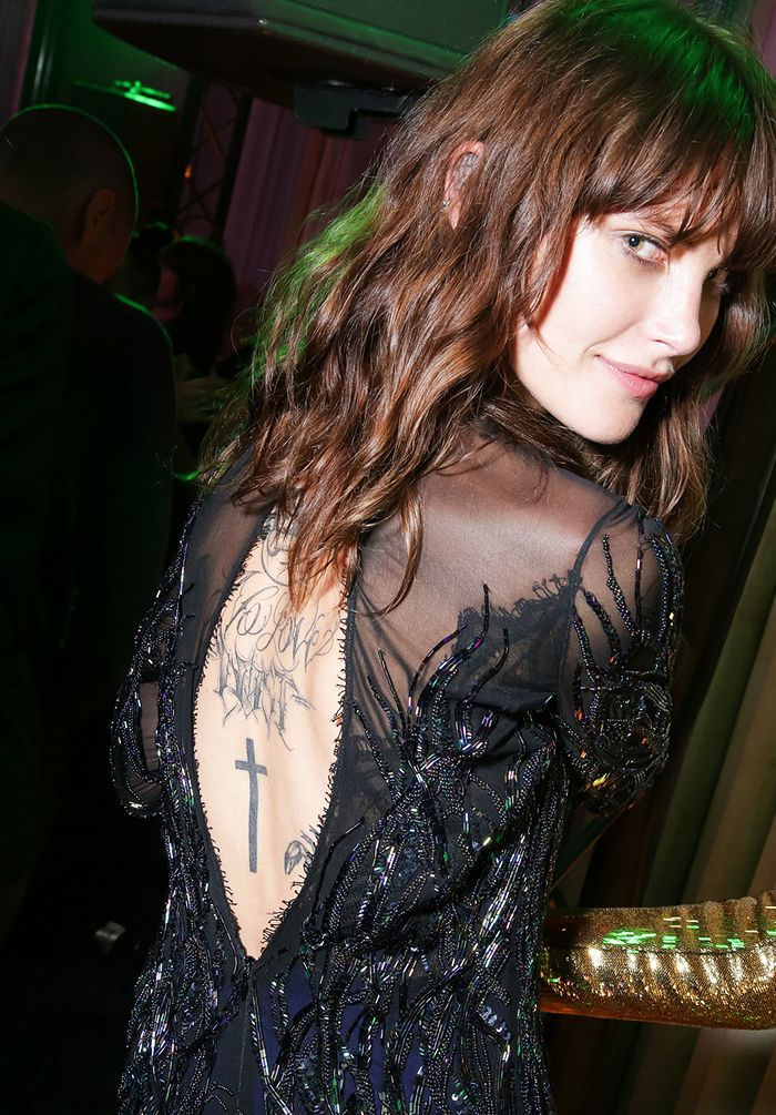 From Erin Wasson To Cara Delevingne The Coolest Model Tattoos Ever Who What Wear