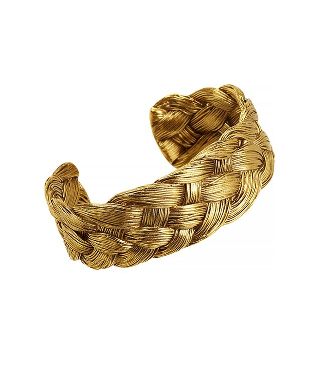Aurélie Bidermann Gold Braided Cuff