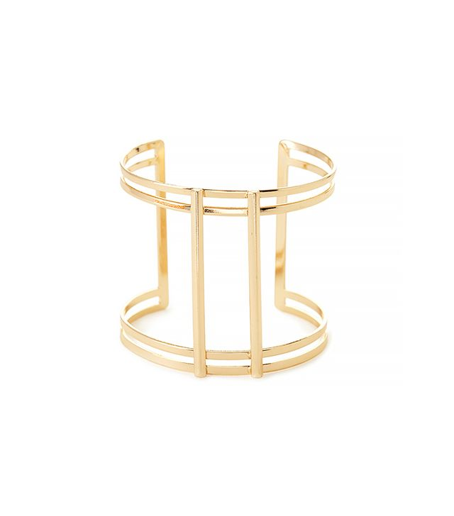 Forever 21 Caged Cutout Cuff