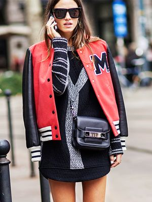 A Feminine Flair to your Letterman Jacket