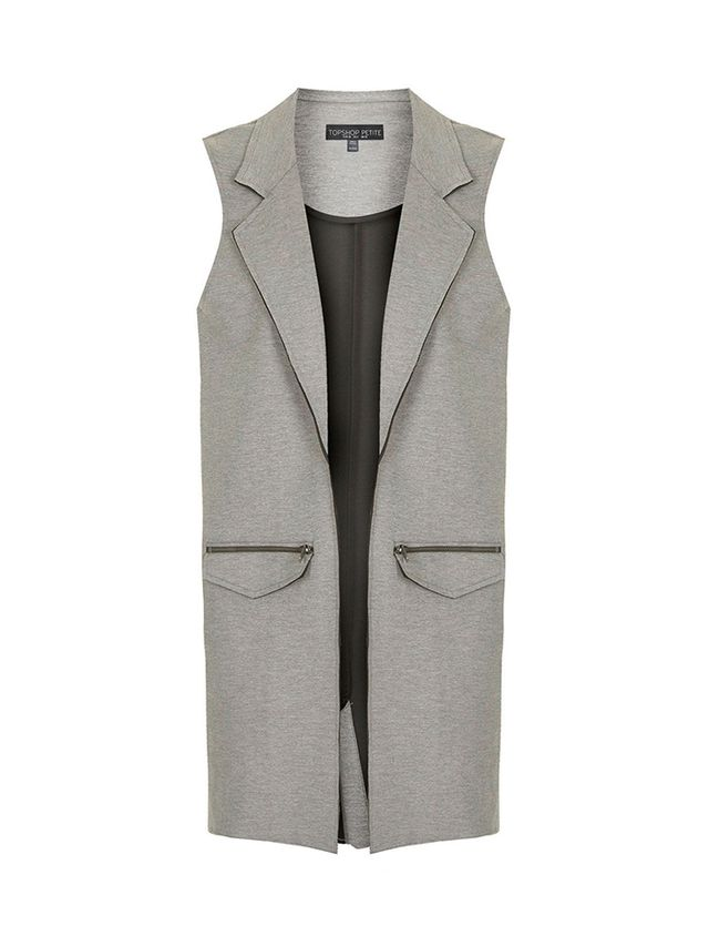 Topshop Petite Sleeveless Jacket