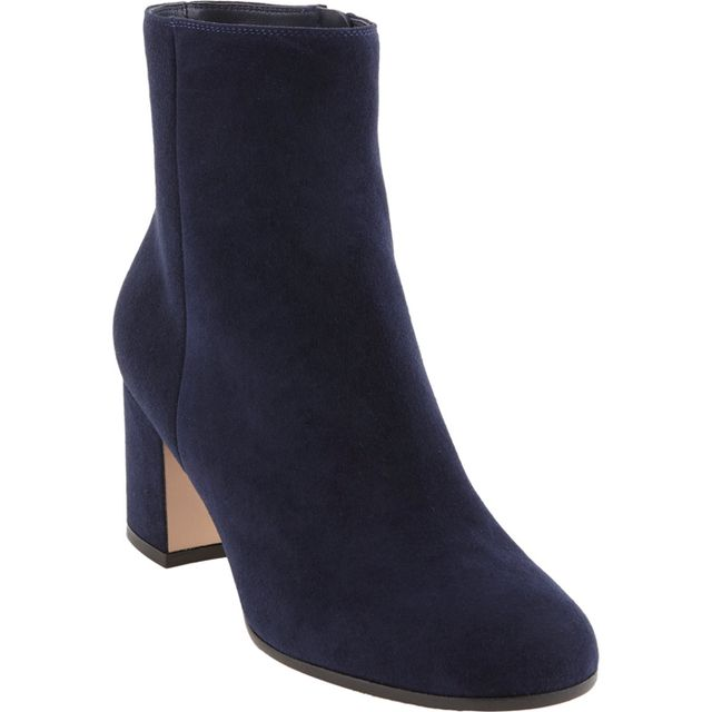 Gianvito Rossi Chunky-Heel Side-Zip Ankle Boots