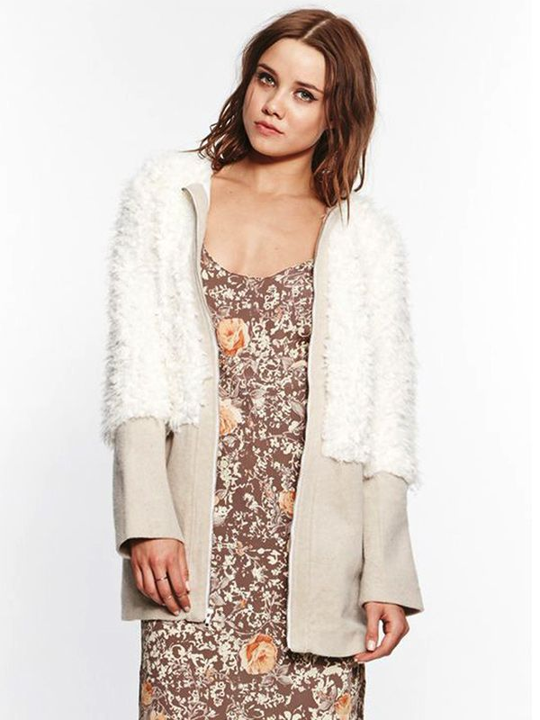 For Love and Lemons Alpine Jacket